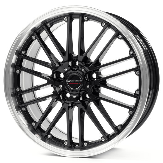 Borbet CW 2 black rim polished