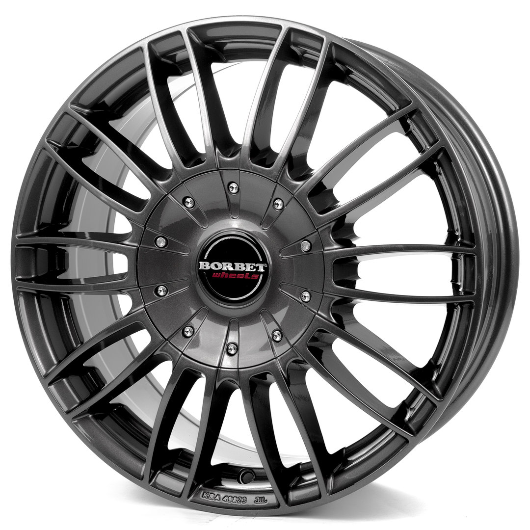 Borbet CW 3 mistral anthracite glossy