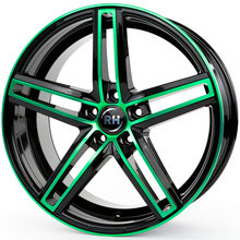 RH Alurad DG Evolution color polished - green